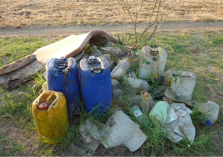Neadekvatno odlaganje opasnog otpada